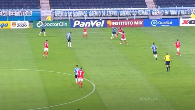Antes de rumar ao Benfica, Everton Cebolinha deu nas vistas pelo Grémio
