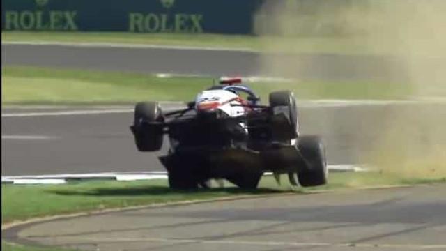 Formula 3: David Schumacher levanta 'voo' nos treinos livres