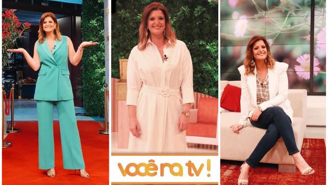 Look da Semana: Os 5 visuais de Maria Botelho Moniz no 'Você Na TV'