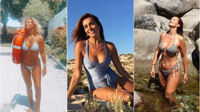 As famosas portuguesas acima dos 40 (anos) que mais arrasam em biquíni
