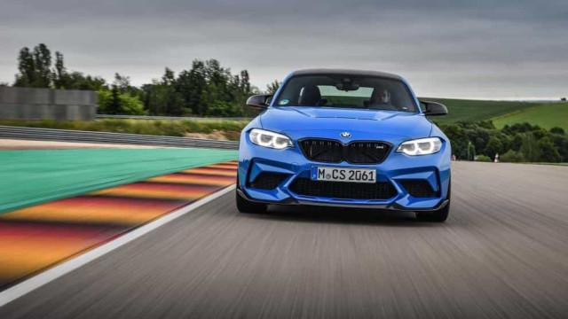 BMW revela imagens do novo M2 CS