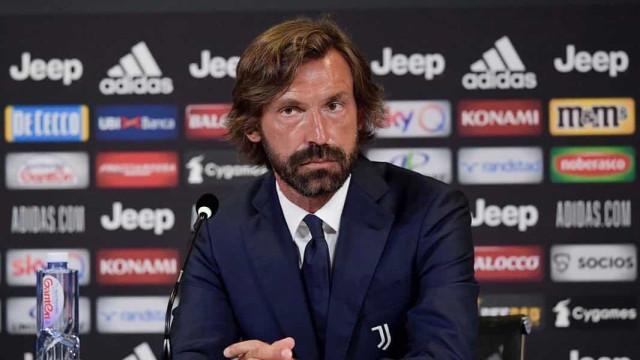"""Andrea Pirlo já fala à Juventus: """"Pronto para esta oportunidade incrível"""""""