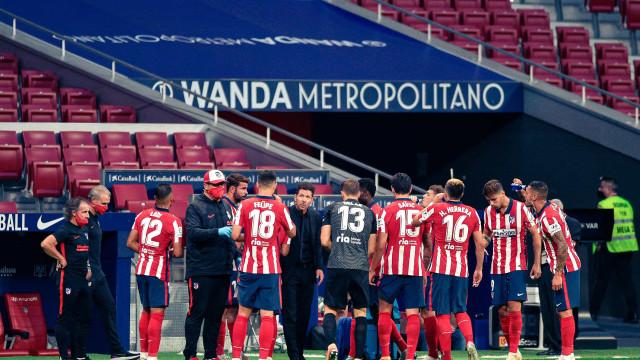 Atlético Madrid confirma dois casos positivos de Covid-19