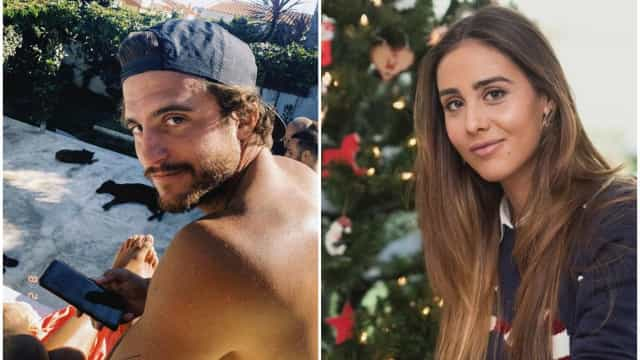 Tiago Teotónio Pereira e os momentos do confinamento com a namorada