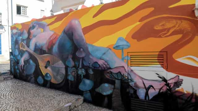 No Algarve? Ruas de Lagos são um verdadeiro museu de arte urbana