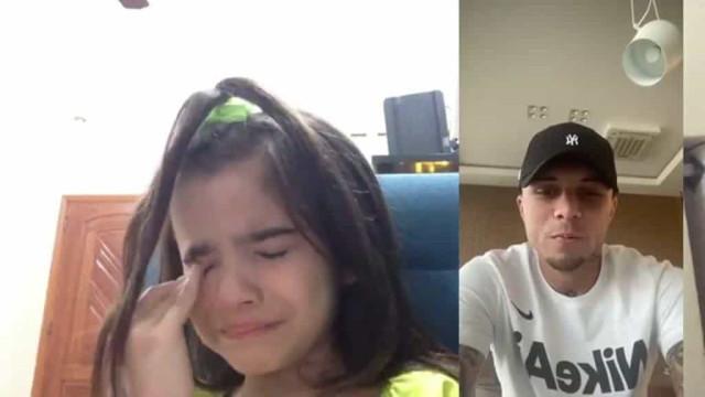 Futuro reforço do Benfica protagoniza gesto viral com menina de sete anos