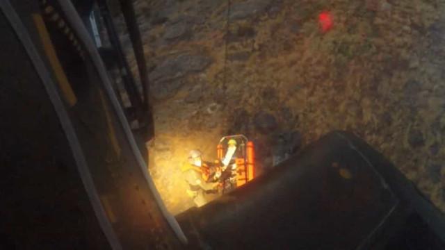 Resgatada pela Força Aérea após sofrer queda de 10 metros em Vila Real