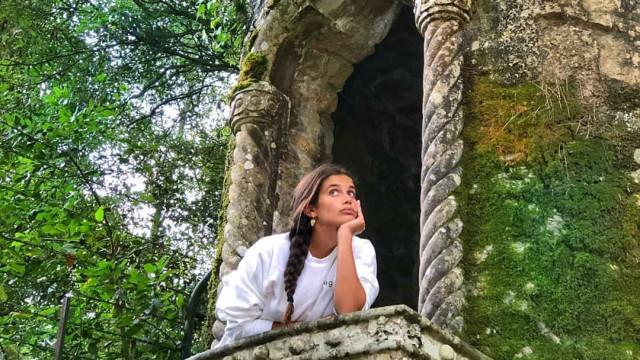 O local místico em Sintra que deixou Sara Sampaio perdida de amores