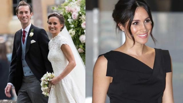 Pippa Middleton não queria convidar Meghan Markle para o seu casamento