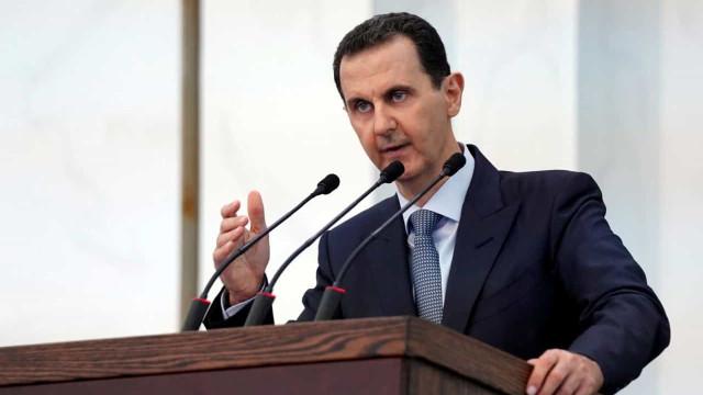 Quebra de tensão obriga Bashar al-Assad a interromper discurso