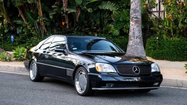 Mercedes-Benz S600 de Michael Jordan está à venda