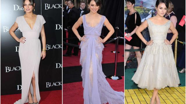 Mila Kunis: 37 anos, 37 looks que marcaram a passadeira vermelha