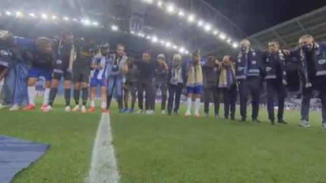 FC Porto revela palavras de Conceição na roda após o jogo de consagração