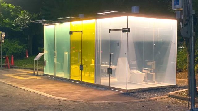 Tóquio instala casas de banho transparentes em parques públicos