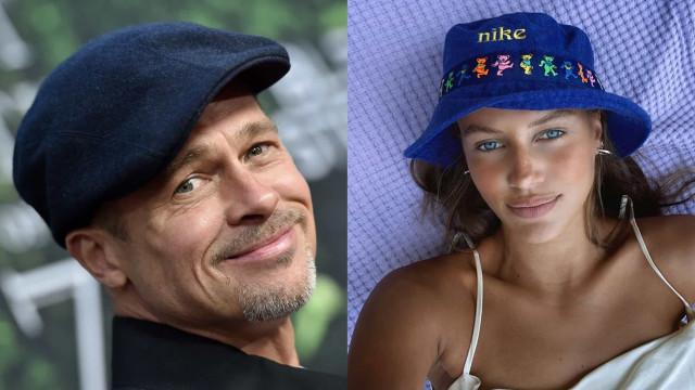 Brad Pitt não ficou chateado por namorada 'responder' a Angelina Jolie