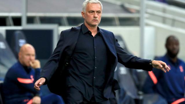O onze que o Tottenham de José Mourinho poderá apresentar esta época