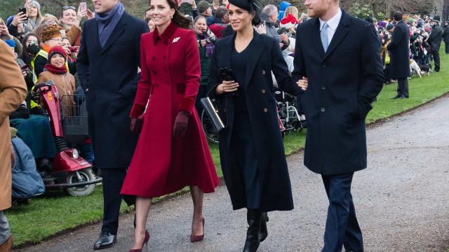 Harry e Meghan surpreenderam Kate Middleton no seu aniversário