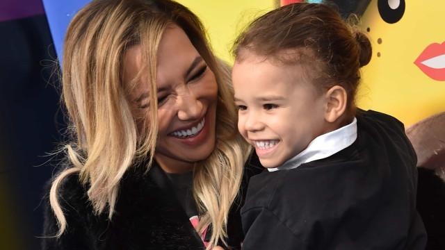 Filho de Naya Rivera, de cinco anos, pediu para ir ter com a mãe ao céu