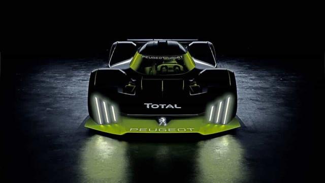 Peugeot anuncia novo hipercarro para participar nas 24 horas de Le Mans