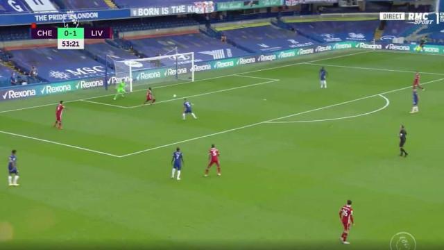 Asneira tremenda de Kepa resulta no segundo golo do Liverpool