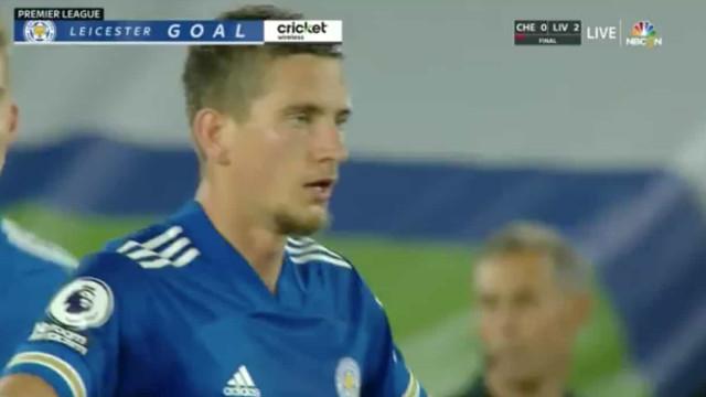 Leicester City fechou vitória sobre o Burnley à 'bomba'