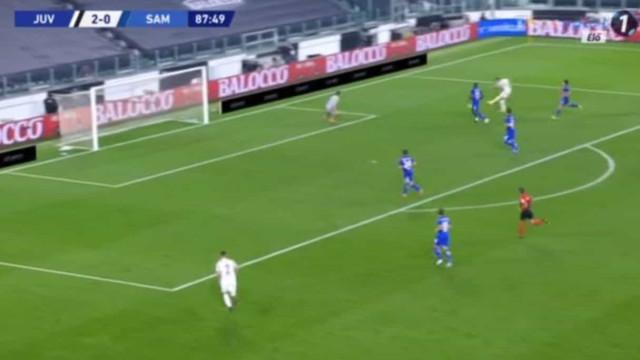 Primeiro jogo e... primeiro golo de Ronaldo na Serie A