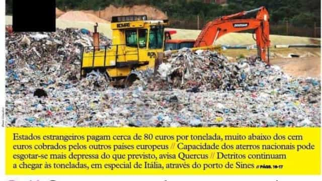 Hoje é notícia: País é caixote do lixo da Europa; Gás custa mais do dobro