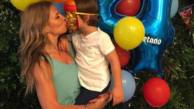 """Ana Rita Clara mostra festa de aniversário do filho. """"Cheia de amor"""""""