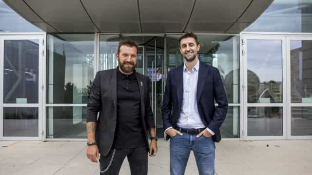 As fotos da visita de Ljubomir Stanisic à sua nova casa: a SIC