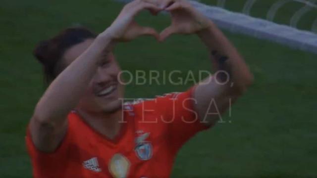 O emocionante video de despedida do Benfica para Fejsa