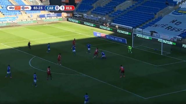 Lucas João de pé quente. Português marca o quinto golo no Championship