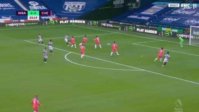Matheus Pereira assistiu para golo frente ao Chelsea aos 4 minutos