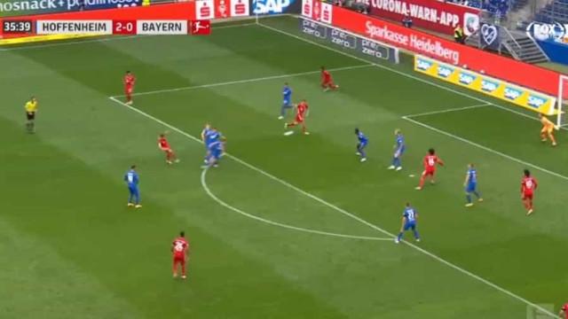 Kimmich marca golaço e reduz desvantagem do Bayern