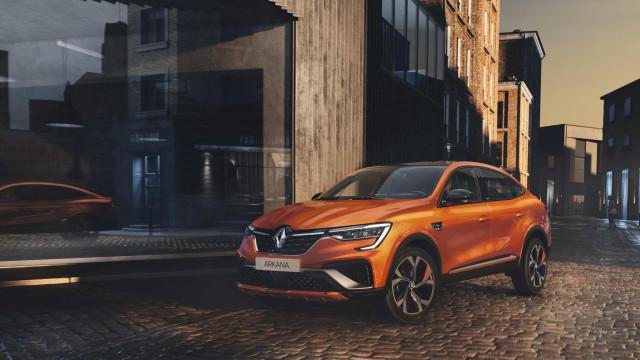 Renault Arkana chega à Europa já em 2021 e traz consigo novidades