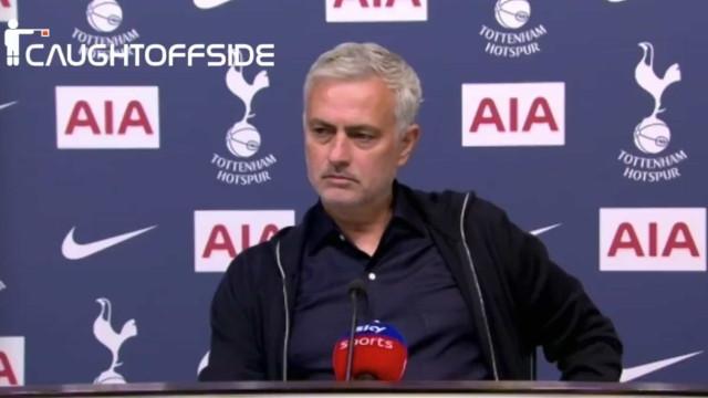 """""""Está a brincar?"""". Resposta de José Mourinho já é viral"""