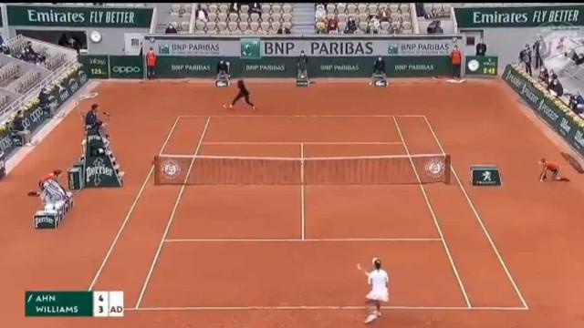 Poder de fogo de Serena Williams selado com um grito de raiva