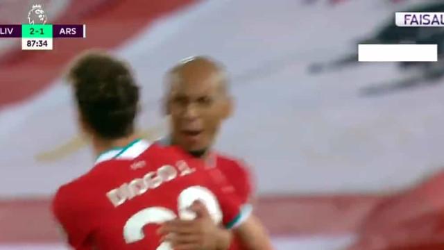 Anfield Road a seus pés: Diogo Jota já marca com a camisola do Liverpool
