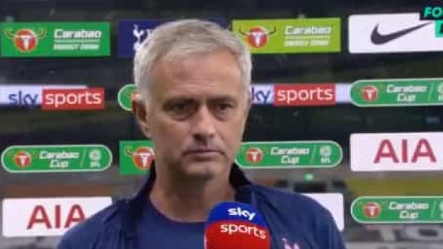 Mourinho explica ida de Dier à casa de banho em pleno jogo