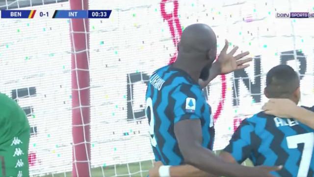 Lukaku não perde tempo e marca aos... 28 segundos