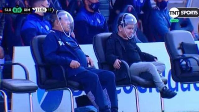 Maradona em modo astronauta? A imagem do argentino que já dá que falar