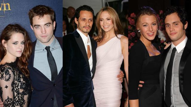 Celebridades que tiveram de trabalhar juntas após o fim da relação
