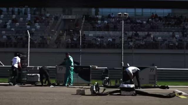 Sabe para que serve um 'Grid Trolley' na Formula 1?