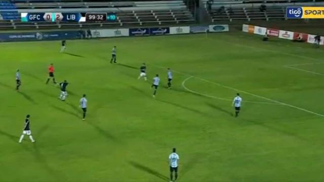 Tacuara Cardozo (lembra-se dele?) marcou este golaço no Paraguai