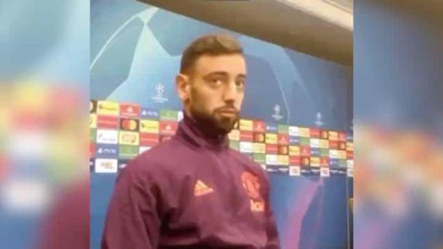 O exato momento em que Bruno Fernandes soube que foi promovido a capitão