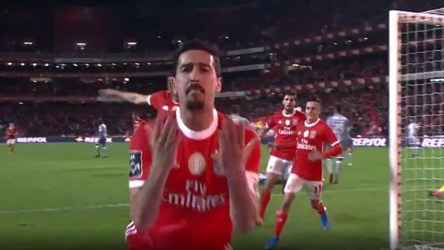 """O emocionante vídeo de apoio do Benfica a André Almeida: """"Sempre juntos"""""""