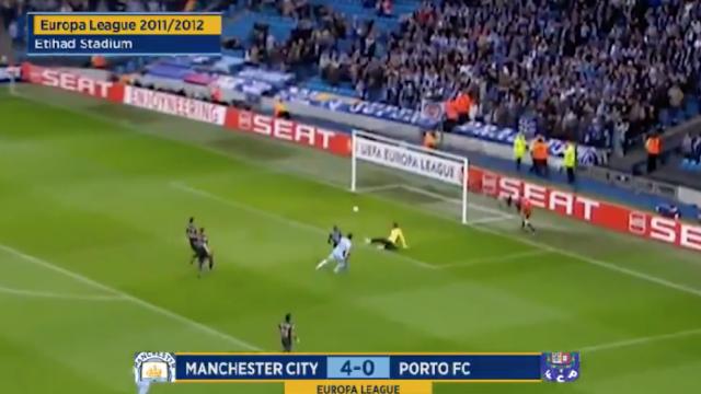 Manchester City recorda goleada aplicada ao FC Porto em 2012