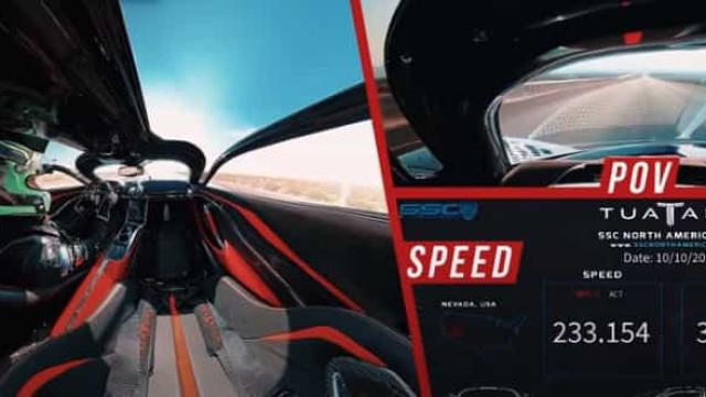 Agora sim, é oficial: SSC Tuatara é o carro mais rápido do mundo