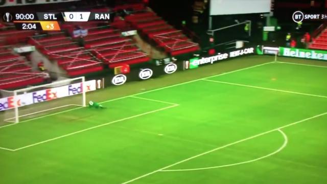 Atenção, Benfica: Jogador do Rangers marcou golo da noite na Liga Europa