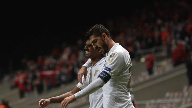 Galeno brilha, Paulinho 'estreia-se' e Sp. Braga bate AEK na Pedreira