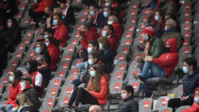 As imagens que não viu na TV do Lech-Benfica e do Sp. Braga-AEK
